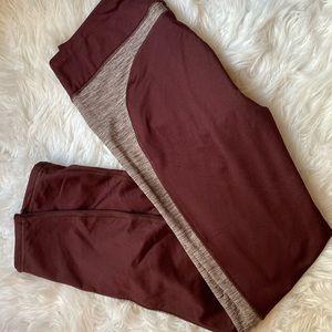 🎃 Maroon LAYER8 leggings. NWOT